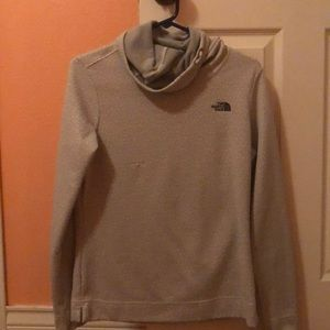 north face turtleneck pull over